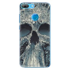 Plastové pouzdro iSaprio Abstract Skull na mobil Honor 9 Lite