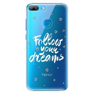 Plastové pouzdro iSaprio Follow Your Dreams bílý na mobil Honor 9 Lite