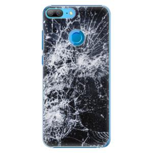 Plastové pouzdro iSaprio Praskliny na mobil Honor 9 Lite