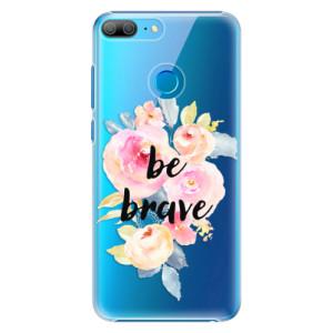 Plastové pouzdro iSaprio Be Brave na mobil Honor 9 Lite