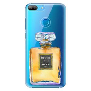 Plastové pouzdro iSaprio Chanel Gold na mobil Honor 9 Lite