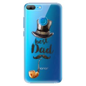 Plastové pouzdro iSaprio Best Dad na mobil Honor 9 Lite