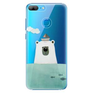 Plastové pouzdro iSaprio Medvěd s Lodí na mobil Honor 9 Lite
