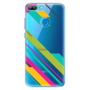 Plastové pouzdro iSaprio Barevné Pruhy 03 na mobil Honor 9 Lite