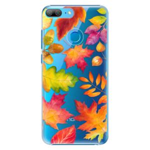 Plastové pouzdro iSaprio Podzimní Lístečky na mobil Honor 9 Lite