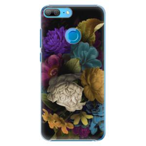 Plastové pouzdro iSaprio Temné Květy na mobil Honor 9 Lite