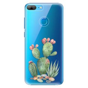 Plastové pouzdro iSaprio Kaktusy 01 na mobil Honor 9 Lite