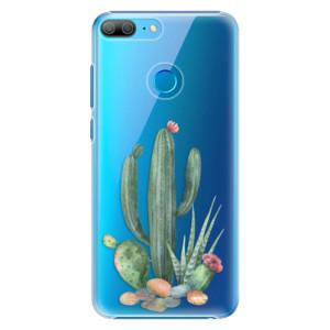 Plastové pouzdro iSaprio Kaktusy 02 na mobil Honor 9 Lite