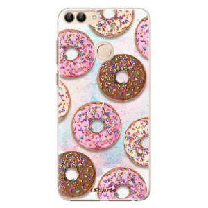 Plastové pouzdro iSaprio Donutky Všude 11 na mobil Huawei P Smart