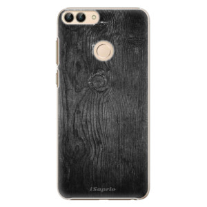 Plastové pouzdro iSaprio Black Wood 13 na mobil Huawei P Smart