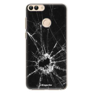 Plastové pouzdro iSaprio Broken Glass 10 na mobil Huawei P Smart