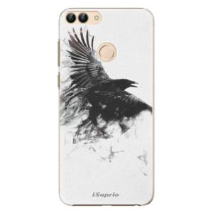 Plastové pouzdro iSaprio Havran 01 na mobil Huawei P Smart