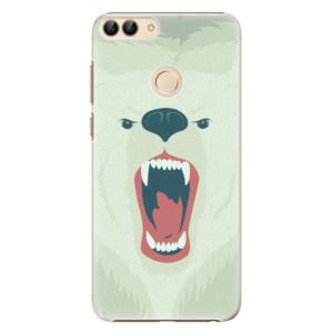 Plastové pouzdro iSaprio Naštvanej Medvěd na mobil Huawei P Smart
