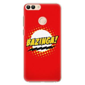 Plastové pouzdro iSaprio Bazinga 01 na mobil Huawei P Smart