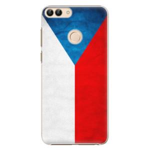 Plastové pouzdro iSaprio Česká Vlajka na mobil Huawei P Smart