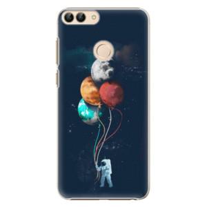 Plastové pouzdro iSaprio Balónky 02 na mobil Huawei P Smart