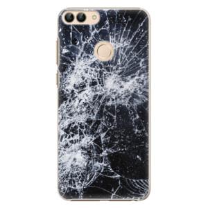 Plastové pouzdro iSaprio Praskliny na mobil Huawei P Smart