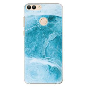 Plastové pouzdro iSaprio Blue Marble na mobil Huawei P Smart