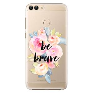 Plastové pouzdro iSaprio Be Brave na mobil Huawei P Smart
