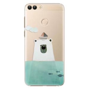 Plastové pouzdro iSaprio Medvěd s Lodí na mobil Huawei P Smart
