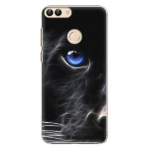 Plastové pouzdro iSaprio Black Puma na mobil Huawei P Smart