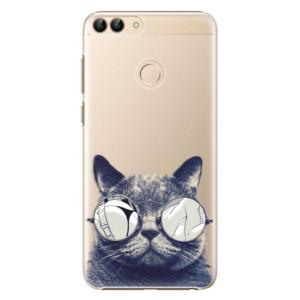 Plastové pouzdro iSaprio Šílená Číča 01 na mobil Huawei P Smart