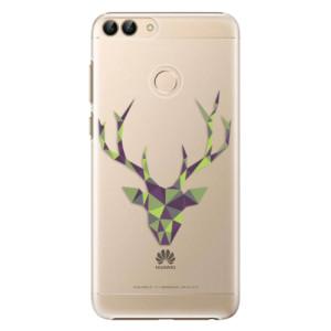 Plastové pouzdro iSaprio Zelený Jelínek na mobil Huawei P Smart