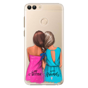 Plastové pouzdro iSaprio Best Friends na mobil Huawei P Smart