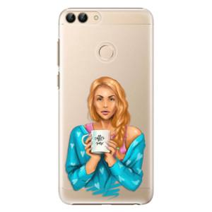Plastové pouzdro iSaprio Coffee Now Zrzka na mobil Huawei P Smart