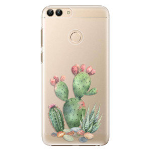 Plastové pouzdro iSaprio Kaktusy 01 na mobil Huawei P Smart