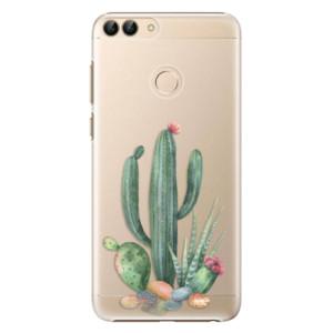 Plastové pouzdro iSaprio Kaktusy 02 na mobil Huawei P Smart