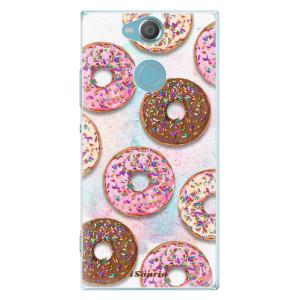 Plastové pouzdro iSaprio Donutky Všude 11 na mobil Sony Xperia XA2