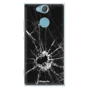 Plastové pouzdro iSaprio Broken Glass 10 na mobil Sony Xperia XA2