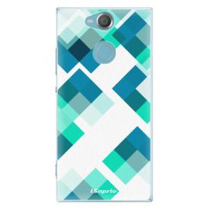 Plastové pouzdro iSaprio Abstract Squares 11 na mobil Sony Xperia XA2