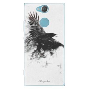 Plastové pouzdro iSaprio Havran 01 na mobil Sony Xperia XA2