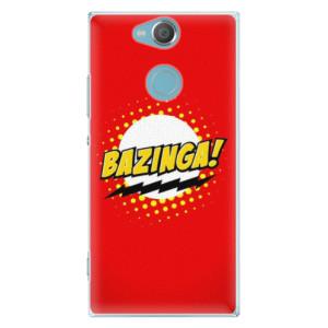 Plastové pouzdro iSaprio Bazinga 01 na mobil Sony Xperia XA2