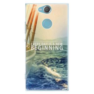 Plastové pouzdro iSaprio Beginning na mobil Sony Xperia XA2