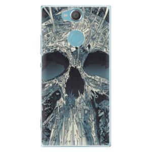Plastové pouzdro iSaprio Abstract Skull na mobil Sony Xperia XA2