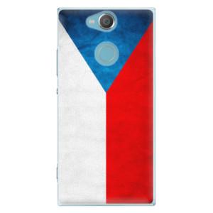 Plastové pouzdro iSaprio Česká Vlajka na mobil Sony Xperia XA2
