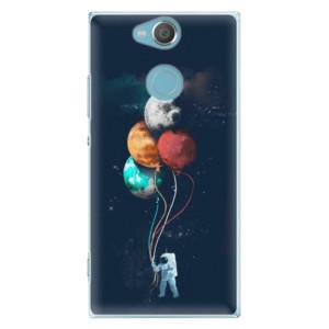 Plastové pouzdro iSaprio Balónky 02 na mobil Sony Xperia XA2