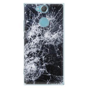 Plastové pouzdro iSaprio Praskliny na mobil Sony Xperia XA2