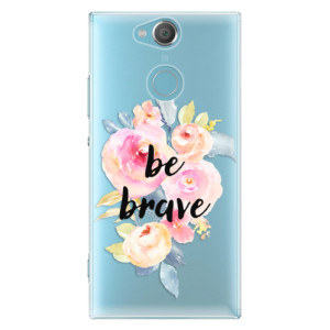 Plastové pouzdro iSaprio Be Brave na mobil Sony Xperia XA2