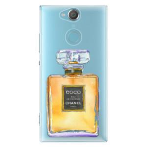Plastové pouzdro iSaprio Chanel Gold na mobil Sony Xperia XA2