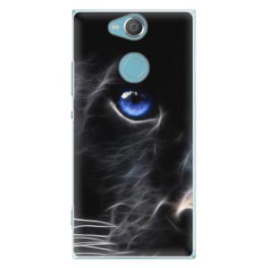 Plastové pouzdro iSaprio Black Puma na mobil Sony Xperia XA2
