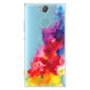 Plastové pouzdro iSaprio Color Splash 01 na mobil Sony Xperia XA2