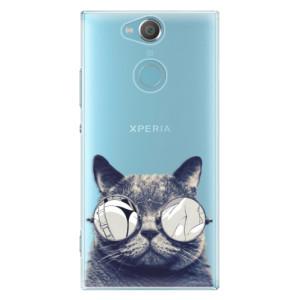Plastové pouzdro iSaprio Šílená Číča 01 na mobil Sony Xperia XA2