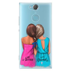 Plastové pouzdro iSaprio Best Friends na mobil Sony Xperia XA2