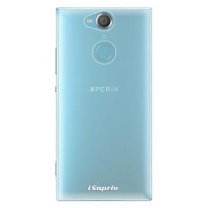 Plastové pouzdro iSaprio 4Pure mléčné bez potisku na mobil Sony Xperia XA2