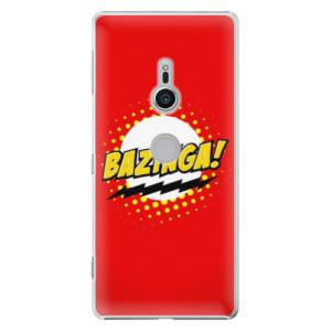 Plastové pouzdro iSaprio Bazinga 01 na mobil Sony Xperia XZ2