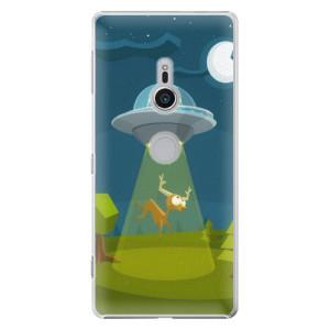 Plastové pouzdro iSaprio Ufouni 01 na mobil Sony Xperia XZ2